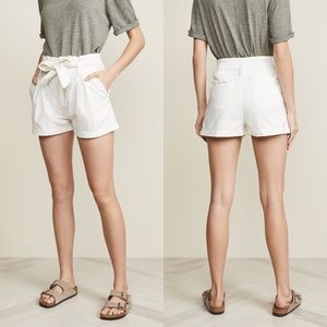 NWT Free People Cream Cargo Paperback Shorts